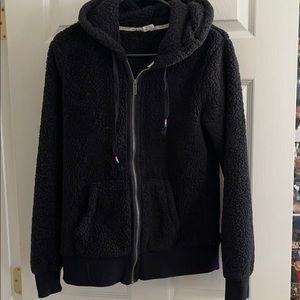 Super soft black roxy jacket